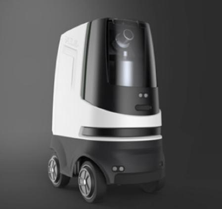 智能无人消毒防疫/货运机器人