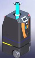 自主导航紫外线消毒机器人