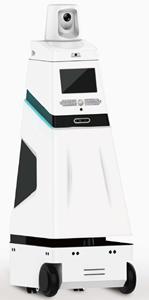 自主导航体温筛查+口罩佩戴检测机器人